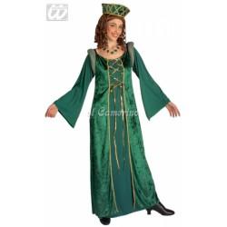 Disfraz LADY ELEONORA VERDE