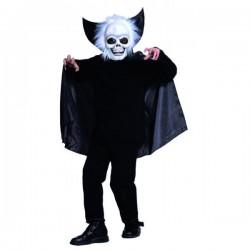 Disfraz CAPA CON MASCARA Esqueleto