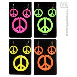 Collar Hippie con pendientes