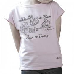 Camiseta Bailarinas barra