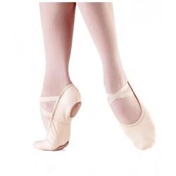 Zapatilla media punta-Lona