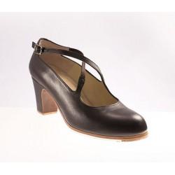 Zapato flamenco-Piel