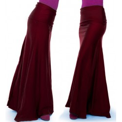 Falda con cintura vuelta