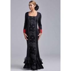 Vestido Embroderie Negro