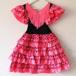 Vestido sevillana corto
