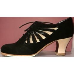 Zapato flamenco Calado