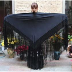 Mantón de pico liso-Crep