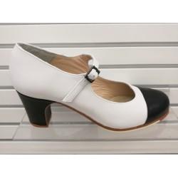 Zapato flamenco Puntera