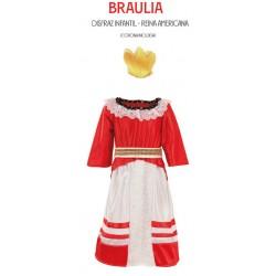 Disfraz BRAULIA Reina Americana
