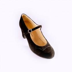 Zapato flamenco-Ante